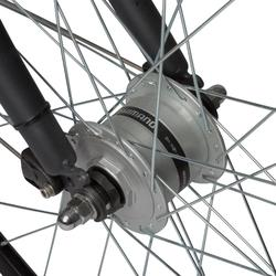 """City Bike 28"""" Elops 920 LF tiefer Einstieg dunkelgrau"""