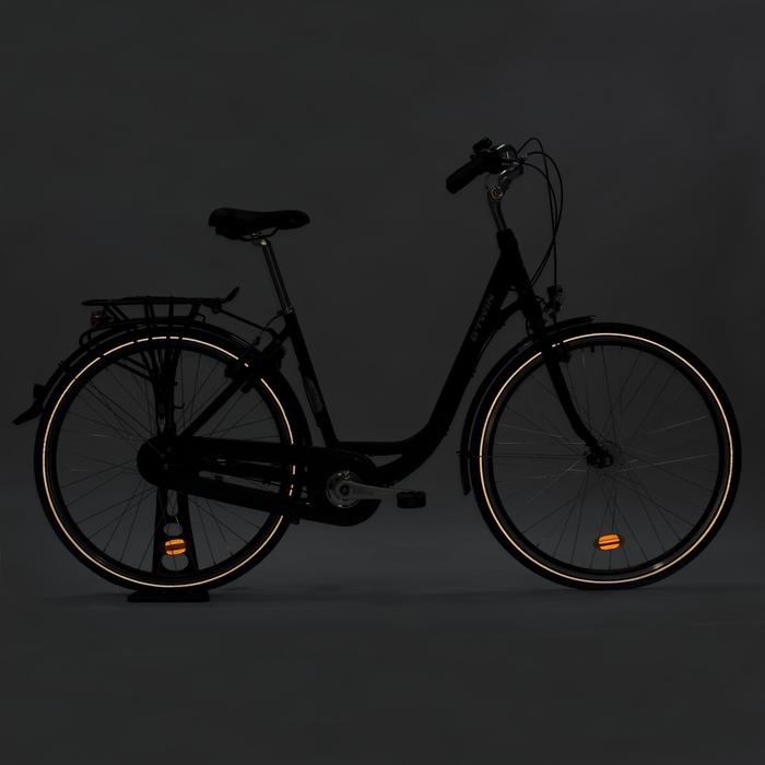City-Bike Elops 920 dunkelgrau