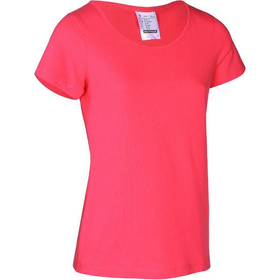 T-shirt gym & pilates Sportee dames - 755349