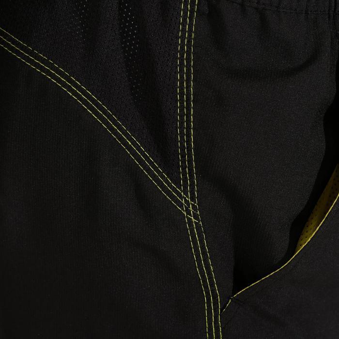 Gymbroek Energy voor jongens, regular fit, zwart geel