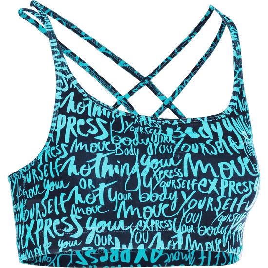Danstopje met smalle schouderbandjes voor dames - 755749