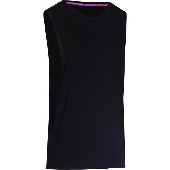 Mouwloos dansshirt dames - 755889