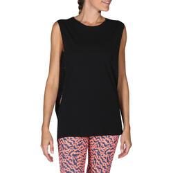 Mouwloos dansshirt dames - 755890