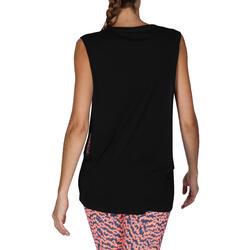 Mouwloos dansshirt dames - 755896