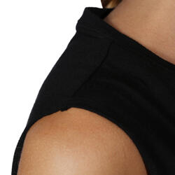 Mouwloos dansshirt dames - 755904