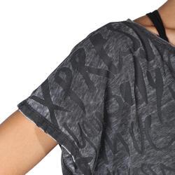 Kort dans T-shirt dames - 755919