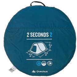 Kampeertent 2 Seconds | 2 personen - 756029