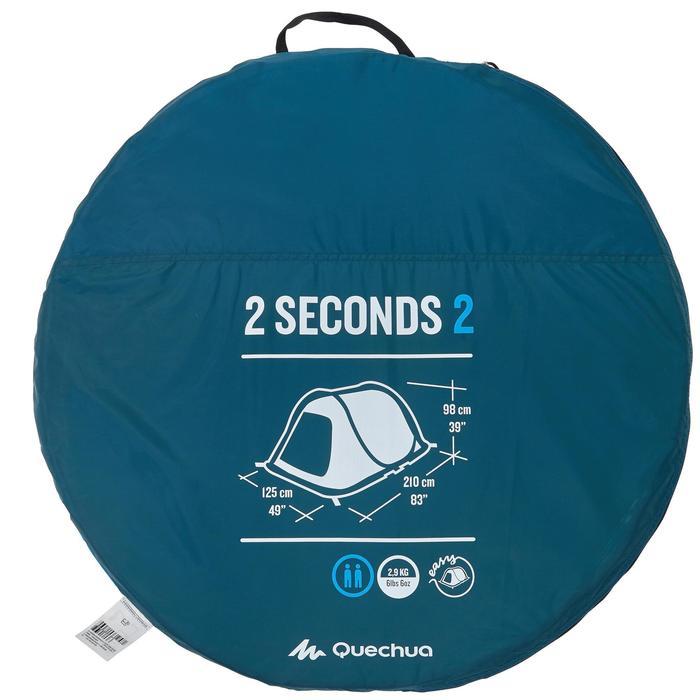 Tente de camping 2 SECONDS | 2 personnes - 756029