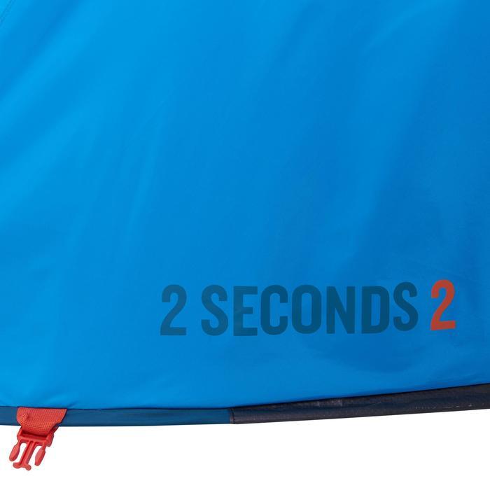 Kampeertent 2 Seconds 2 personen blauw