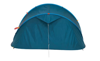 Camping Tent 2 SECONDS _PIPE_ 3 People - Blue