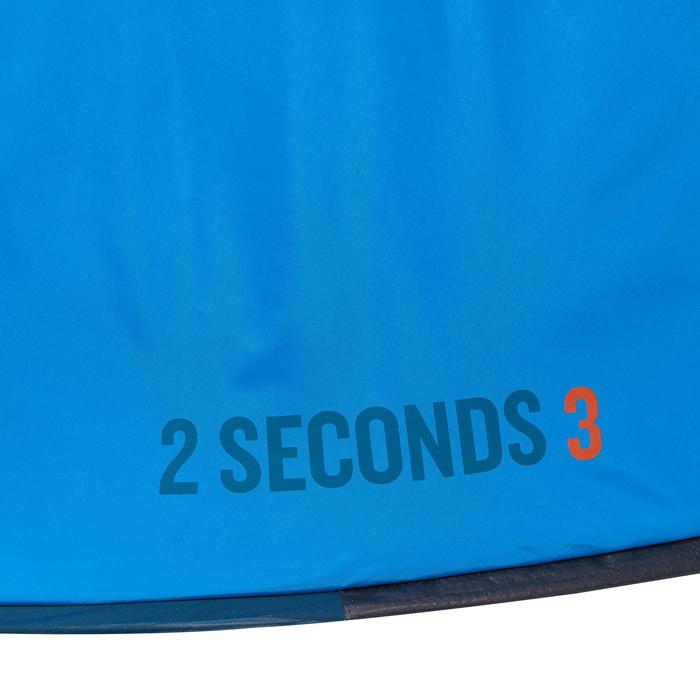 Tienda de campaña 2 SECONDS | 3 personas Azul