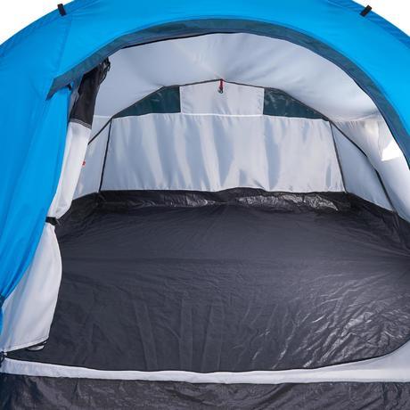 tente de camping 2 seconds 3 personnes bleu quechua. Black Bedroom Furniture Sets. Home Design Ideas