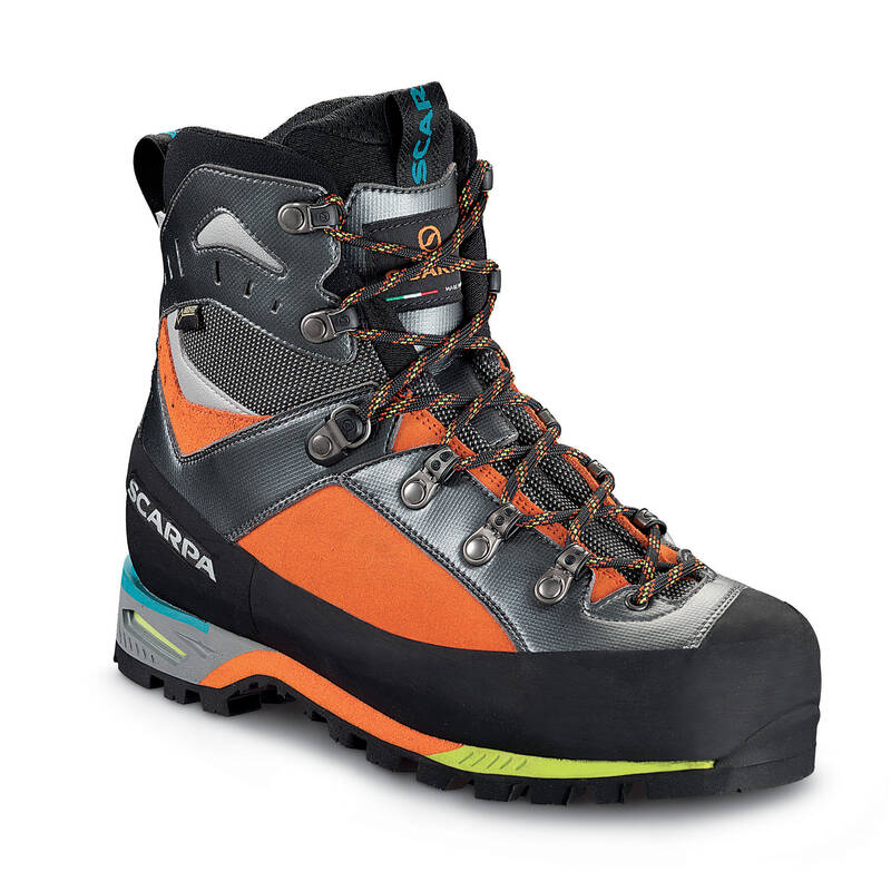 BOTY NA ALPINISMUS Alpinismus, horolezectví - BOTY TRIOLET GORE-TEX  SCARPA - Helmy, oblečení, obuv