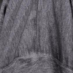 Kort, wijd sweatshirt met lange mouwen voor meisjes, oranje. - 756287