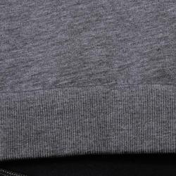 Kort, wijd sweatshirt met lange mouwen voor meisjes, oranje. - 756290