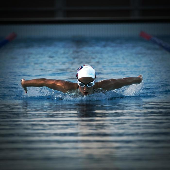 Lunettes de natation SELFIT PACK luminosité 3en1 taille S blanc noir - 756312