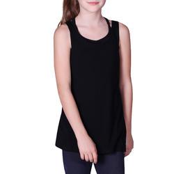 T-shirt met opening opzij meisjes - 756364