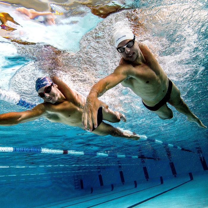 Lunettes de natation SELFIT PACK luminosité 3en1 taille S blanc noir - 756369