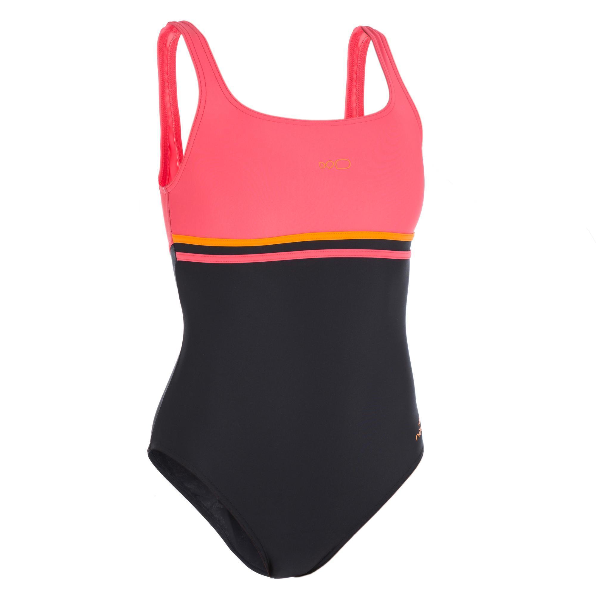 maillot de bain de natation une piece femme loran noir corail nabaiji k=ab2e f1ccc6152d6b775c6327fee