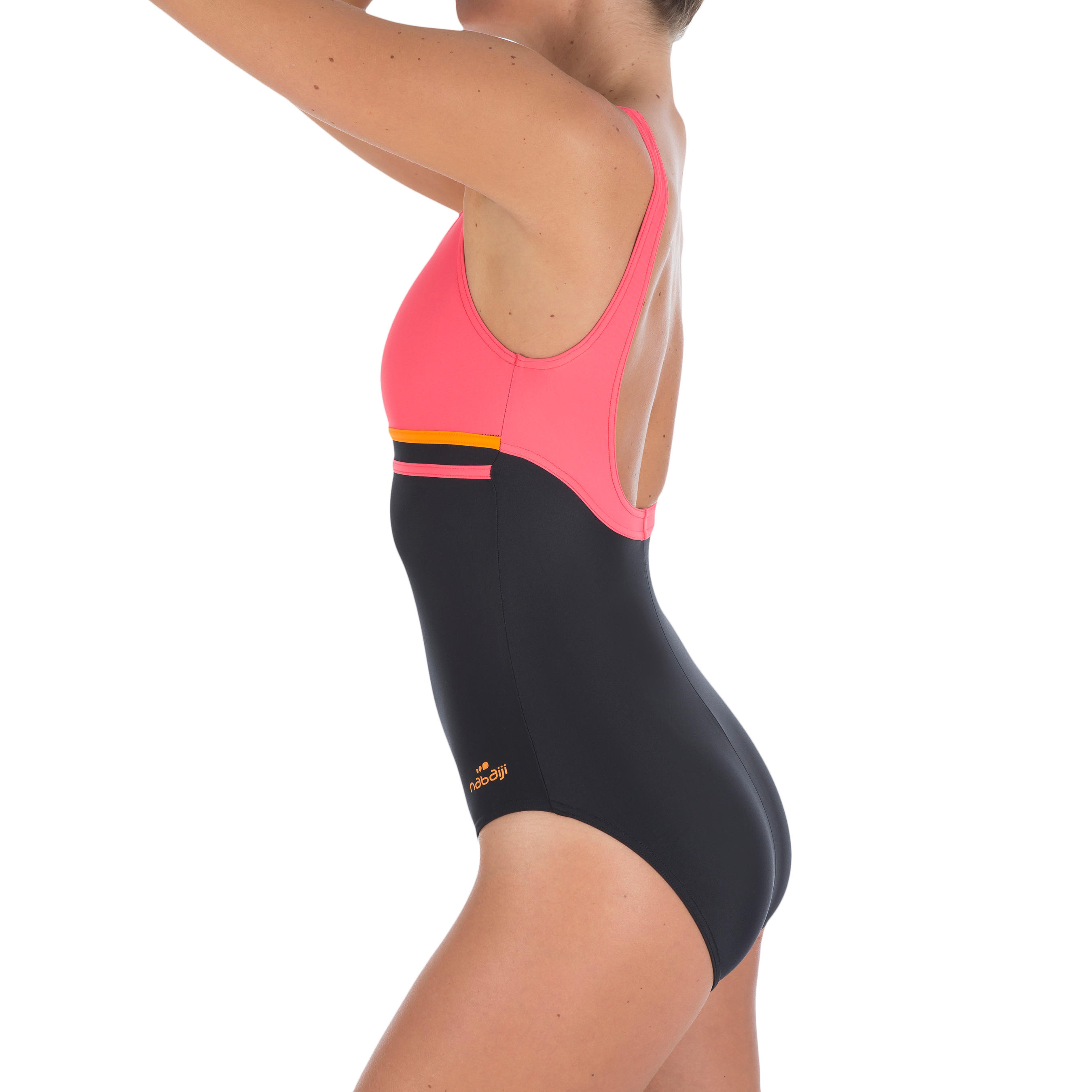 Loran Women's One-Piece Swimsuit - Black Coral