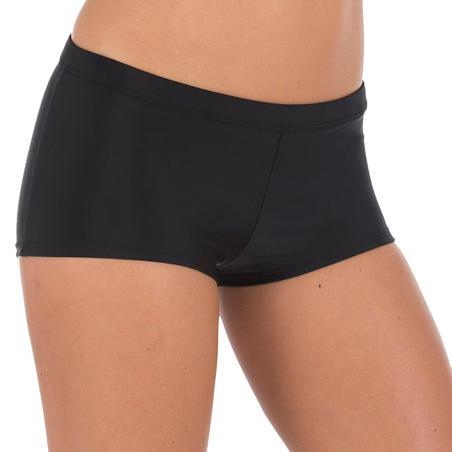Bas de maillot de bain de natation femme short Vega noir
