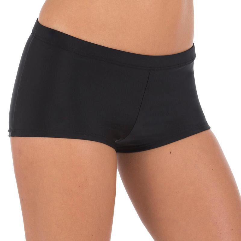 Parte de abajo de natación para mujer forma traje corto Vega Negro