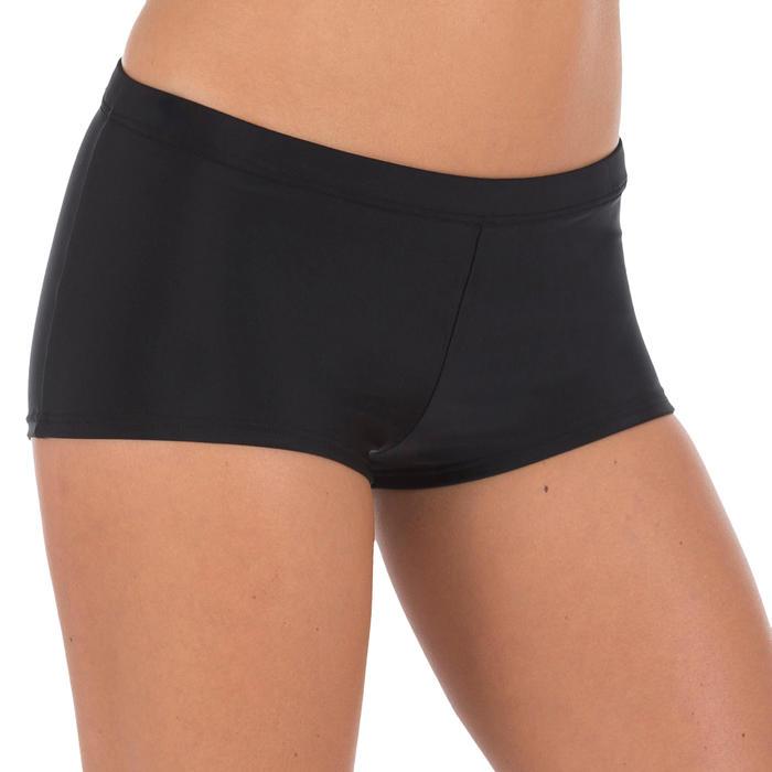 Braga Bikini Natación Culotte Nabaiji Vega Mujer Pantalón Corto Ajustable Negro