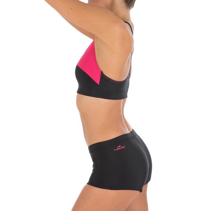 Bas de maillot de bain de natation femme shorty Vega noir - 756761