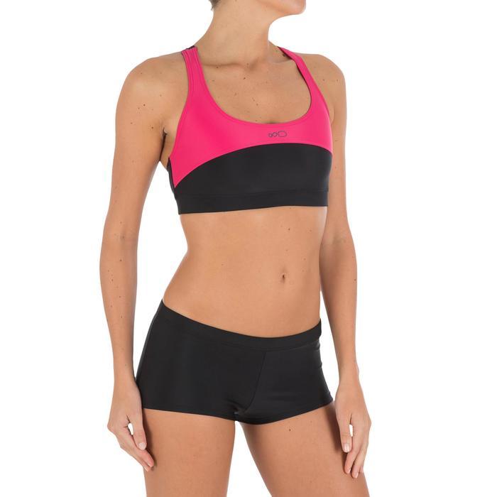 Bas de maillot de bain de natation femme shorty Vega noir - 756762