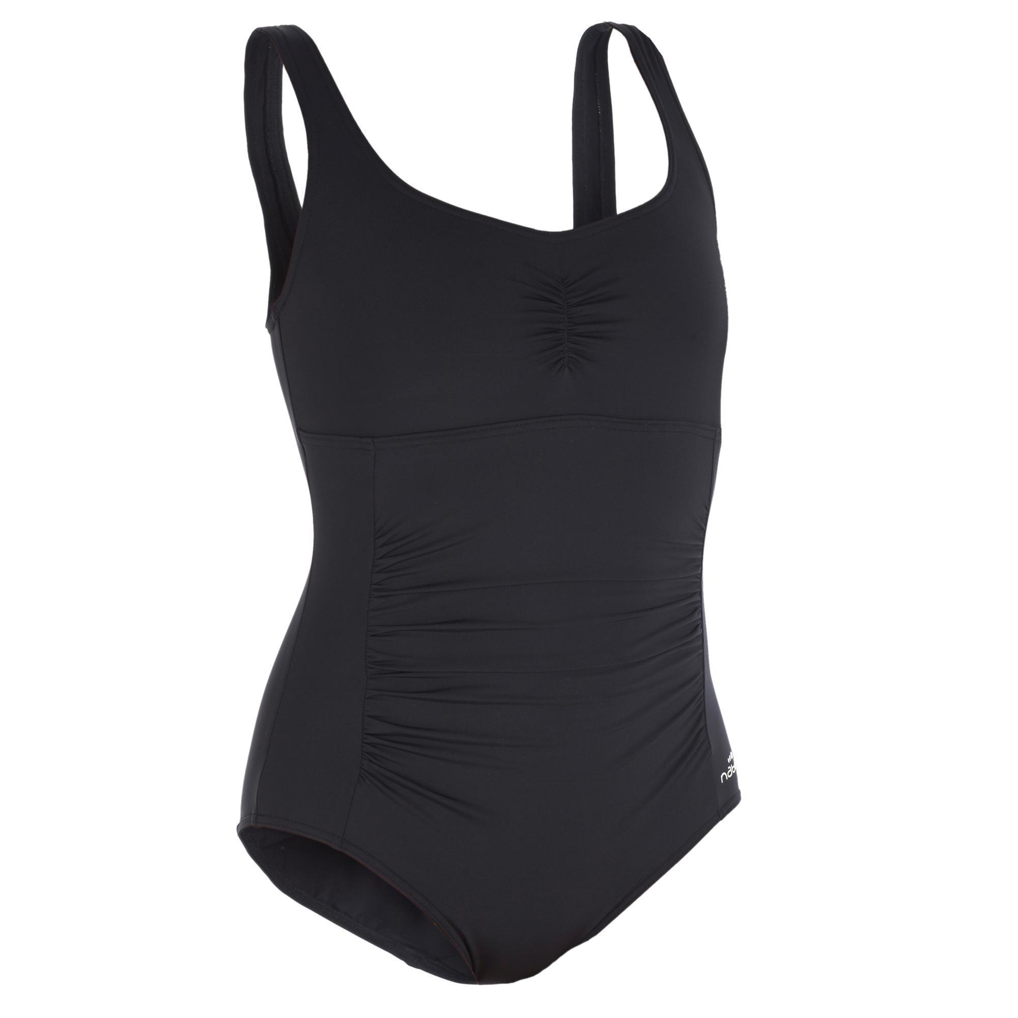 3cf00fba0a0d Badeanzug Aquagym figurformend Mary Damen schwarz