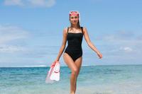 Traje de baño dama DORA negro moldeador 360° y elegante drapeado