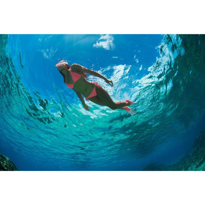 Bas de maillot de bain de surf femme nouée côté SOFY ORIGAMI - 757179