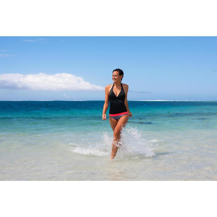 Haut de maillot de bain femme tankini avec coques fixes INES NOIR - 757184