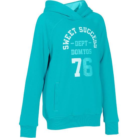 Warme gym hoodie voor meisjes - 757317