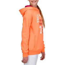 Warme gym hoodie voor meisjes - 757330