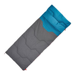 CAMPING SLEEPING BAG ARPENAZ 10° COTTON