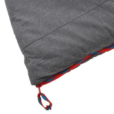 sac de couchage de camping arpenaz 10 coton bleu quechua. Black Bedroom Furniture Sets. Home Design Ideas