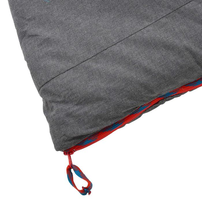Schlafsack Camping Arpenaz 10°C Baumwolle