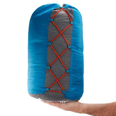 CAMPING SLEEPING BAG ARPENAZ 10° COTTON