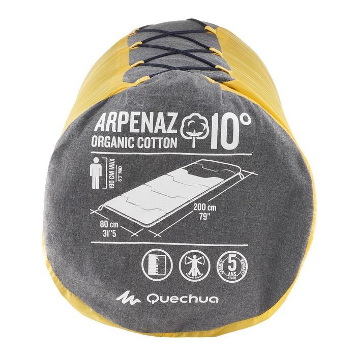 Sac de couchage de camping ARPENAZ 10° coton - 757442