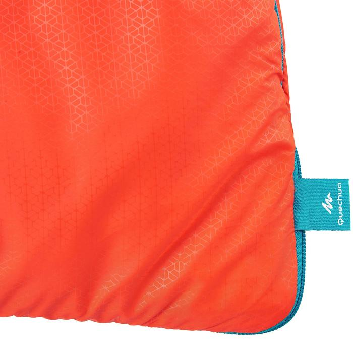 Camping Sleeping Bag / Hiking Camp ARPENAZ 10° Down - Red