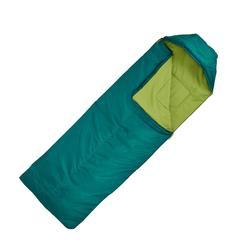 Forclaz 10° 左側拉鍊睡袋 - 綠色