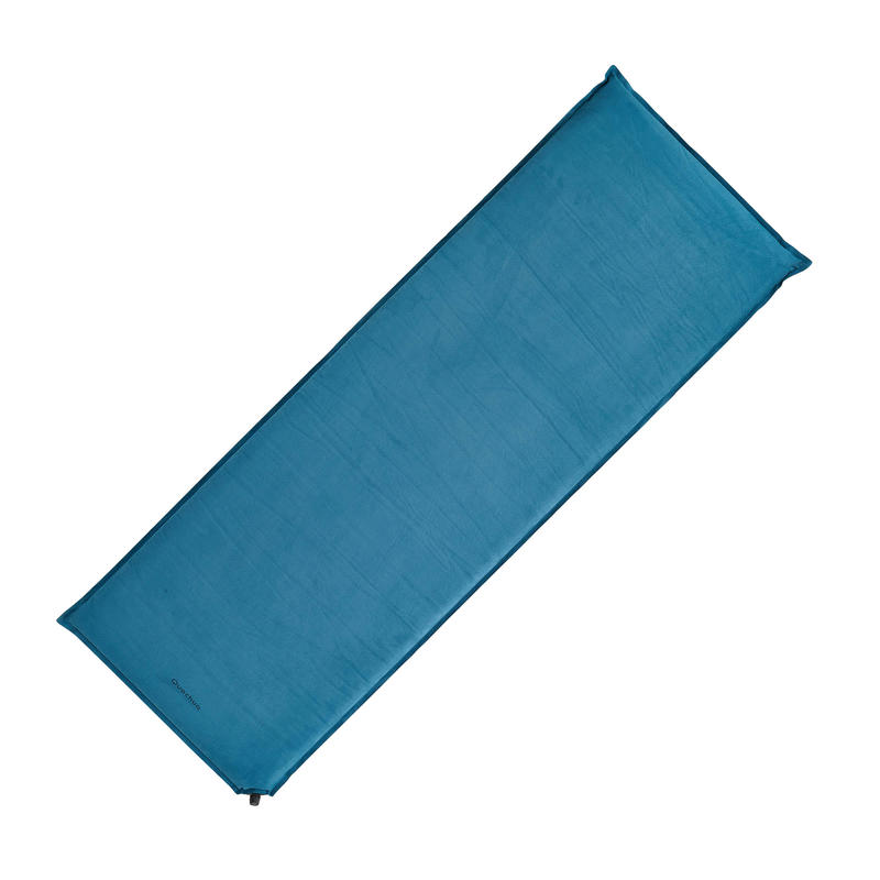 A300 Self-Inflating Mattress For Camping/Hiking Trips - 1 Pers, Blue