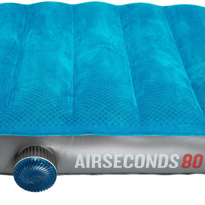 AIR SECONDS INFLATABLE CAMPING MATTRESS _PIPE_ 1 PERSON - WIDTH 80 CM