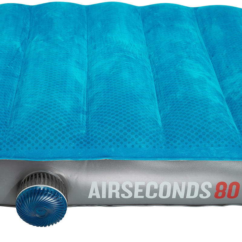 Colchón inflable de camping AIR SECONDS 80 | 1 persona