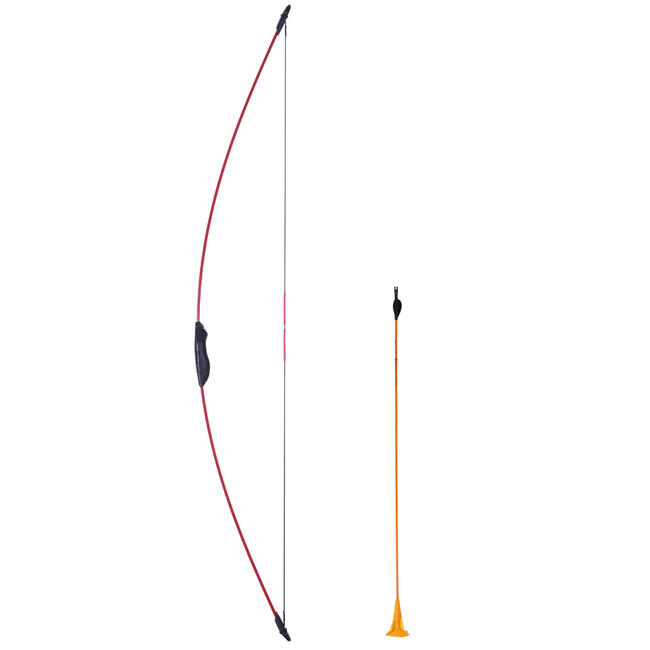 Discovery Junior Kids Archery Bow - Red