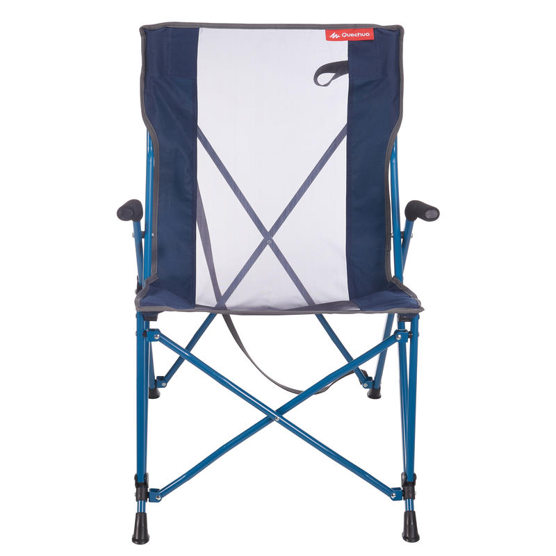 Camping Chair (Foldable) Comfort - Blue