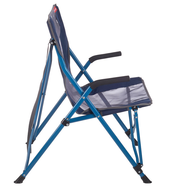 COMFORT CHAIR FOR CAMPING - BLUE