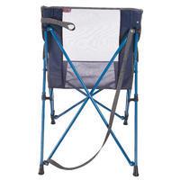 Silla confort de camping / campamento del excursionista Azul
