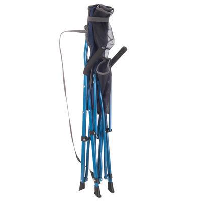 silla Mobiliario de camping confort azul